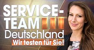 Service-Team Deutschland - Wir testen für Sie!
