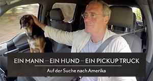 Ein Mann, ein Hund, ein Pickup