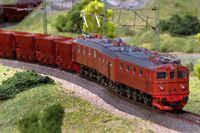 Märklin DM3 Lok mit Lorenwaggen. – © SWR/Hagen von Ortloff