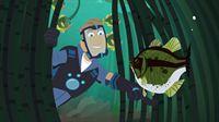 Um wilden Tieren zu helfen, sind Chris und seiner Crew keine Berge zu hoch und keine Gewässer zu tief. – © SUPER RTL