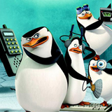 Die Pinguine aus Madagascar Logo Cover  – © Viacom International Inc./Dreamworks