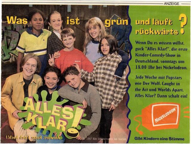 Nickelodeon Tv-Sendungen