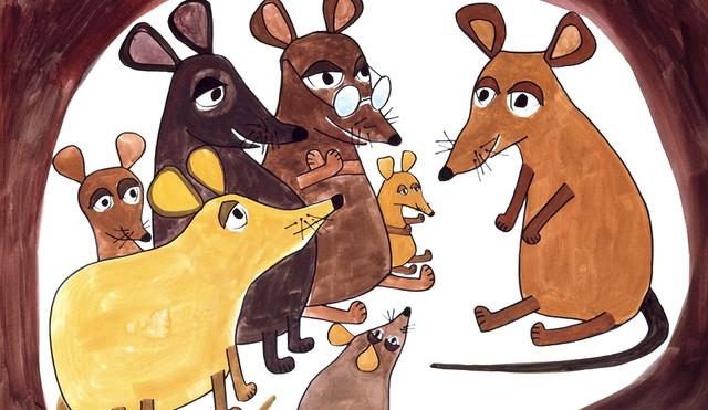 Die Ur-Maus aus der Bildergeschichte