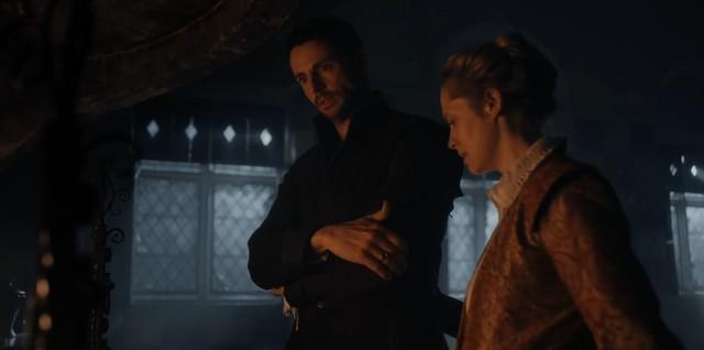 Diana (Teresa Palmer) gibt Matthew (Matthe Goode) Halt.