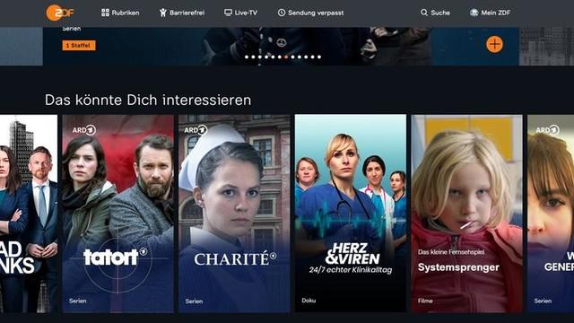 So soll es bald aussehen: ARD-Inhalte in der ZDFmediathek