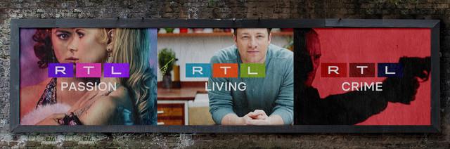 Neues RTL-Logo findet sich künftig auf allen Sendern.