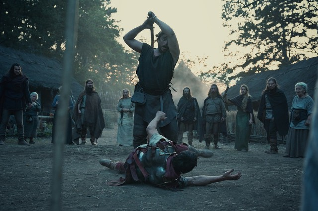 Arminius (Laurence Rupp) hat sich als Römer neue Feinde gemacht.