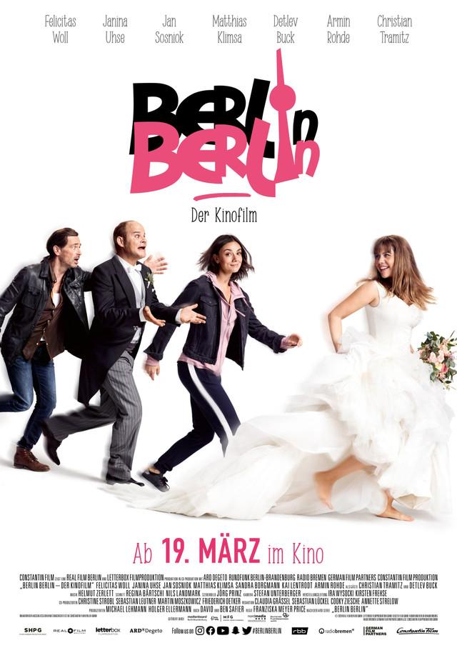 "Plakat zu ""Berlin, Berlin - Der Kinofilm"""