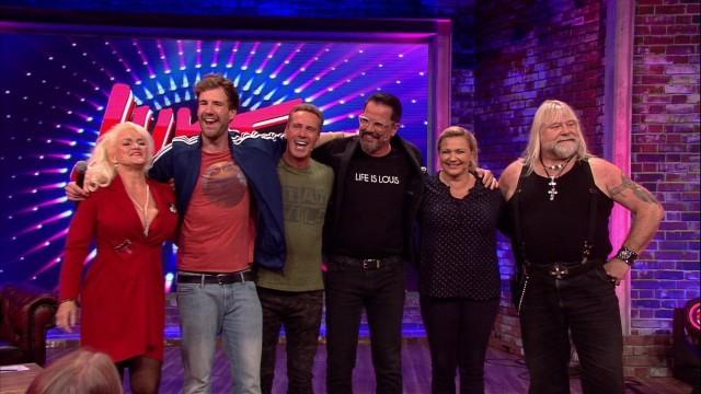"""""""Big Brother""""-Bewohner der ersten und zweiten Staffel feierten bei Luke Mockridges 2000er Show ein Wiedersehen"""