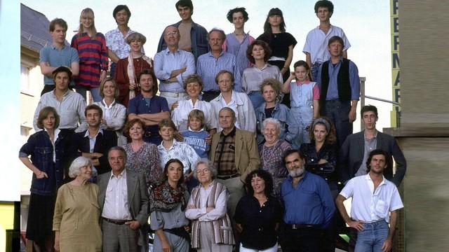 Das Ensemble im Anfangsjahr 1985