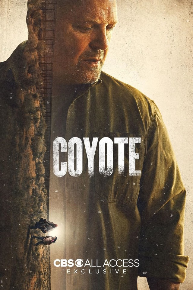 "Poster zur Serie ""Coyote""."