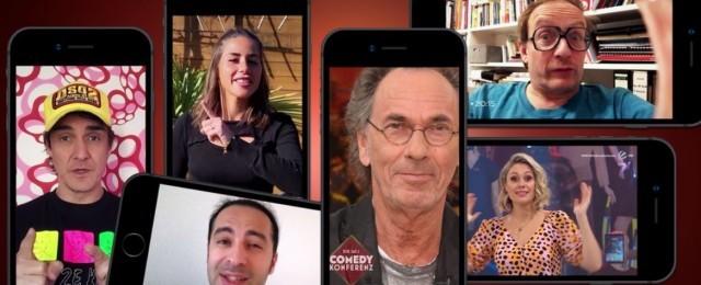 """Die Sat.1 Comedy Konferenz - Promis in Quarantäne"""