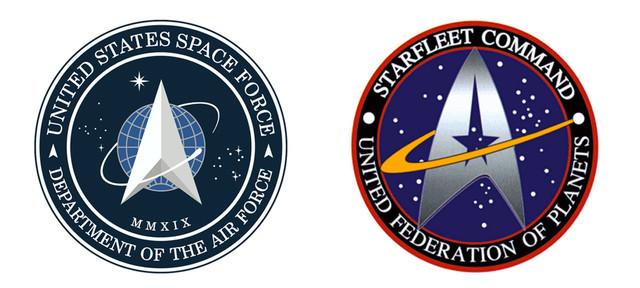 "Flop: Offizielles ""Space Force""-Logo der USA sorgt bei ""Star Trek""-Fans für Spott"