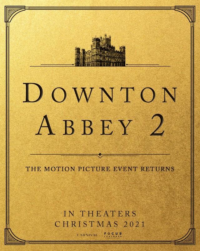 "Ankündigung zu ""Downton Abbey 2""."