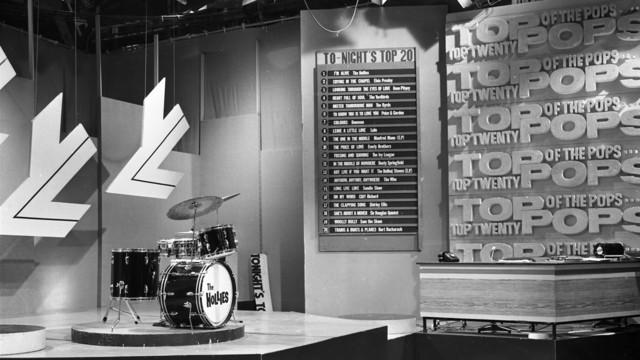 """Studio des Musikshow-Klassikers """"Top of the Pops"""" (1965)"""