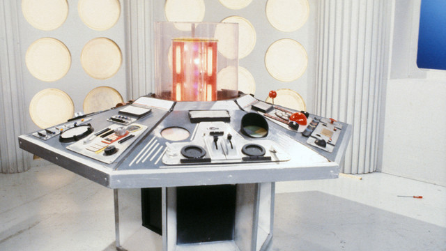 "TARDIS aus der Serie ""Doctor Who"" (1980)"