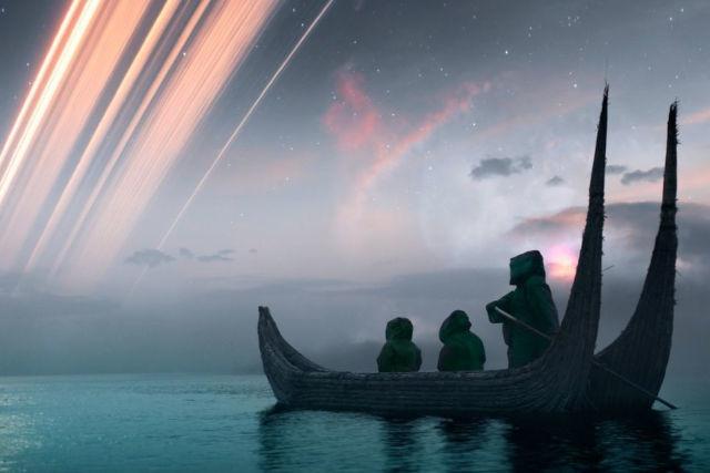 Phantastische Welten: Gaals Heimatplanet