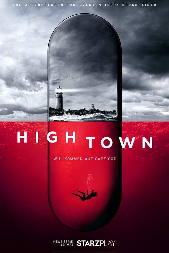 """Poster zur Serie """"Hightown"""""""