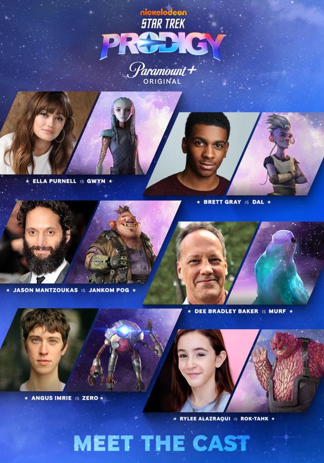 """Die Charaktere von """"Star Trek: Prodigy"""" und ihre Sprecher"""