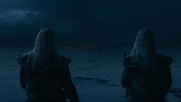 Der Nachtkönig und seine Armee beziehen vor Winterfell Position.