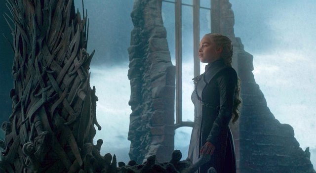 Daenerys (Emilia Clarke) wähnt sich endlich am Ziel