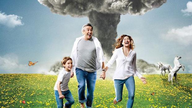 Der unbedingte Zwang, glücklich zu sein: Familie Payne (Sawyer Shipman, Steve Coogan, Kathryn Hahn)
