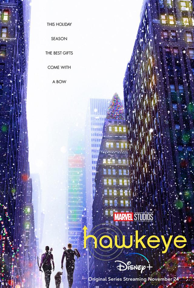 """""""Hawkeye""""-Poster wünscht ungewöhnliche Weihnachten"""