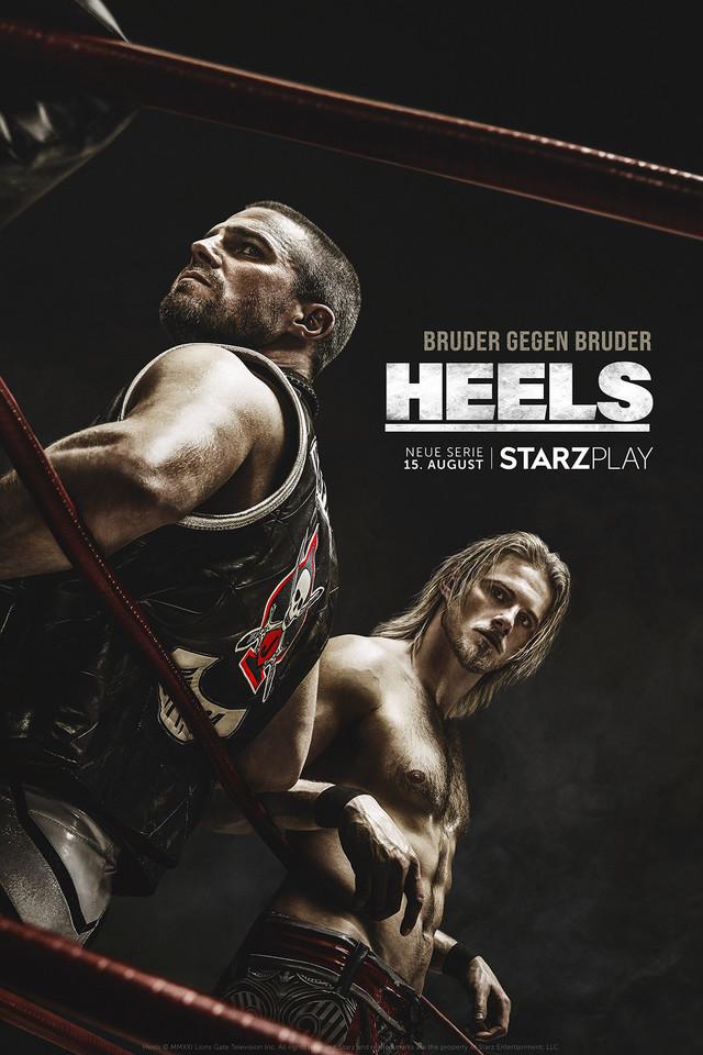"""Poster zur neuen Starzplay-Serie """"Heels"""""""
