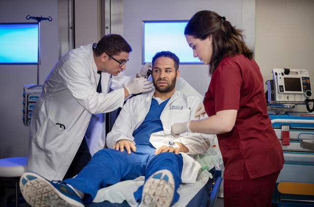 Dr. Matteo Moreau (Mike Adler) oder: Die besten Ärzte sind die schwierigsten Patienten