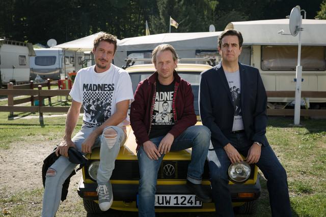 Paul (Hans Löw), Ole (Fabian Busch) und Alexander (Bastian Pastewka) (v. l.)