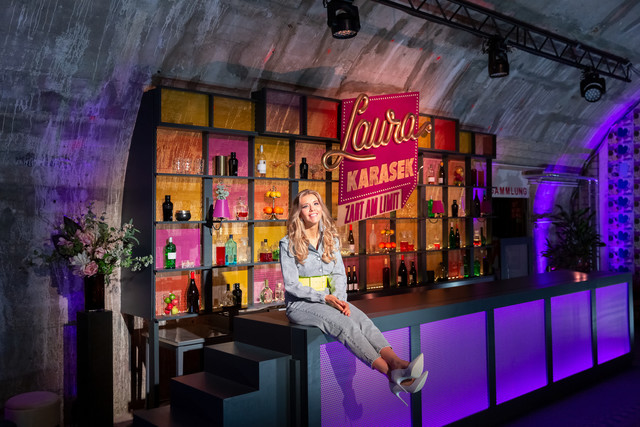 "Laura Karasek im ""Zart am Limit""-Studio"