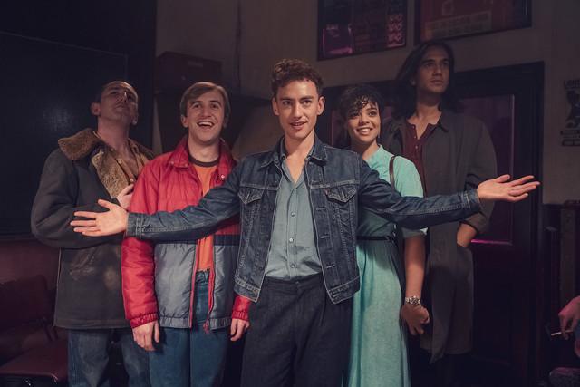 1981: Die Freunde genießen das Nachtleben von London.
