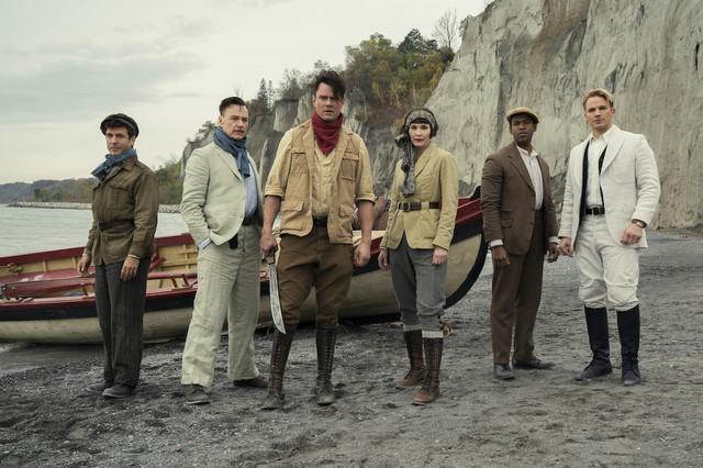 Die sechs Gründungsmitglieder der Union anno 1932: Richard (David Julian Hirsh), Walter (Ben Daniels), Sheldon (Josh Duhamel), Grace (Leslie Bibb), Fitz (Mark Wade) und George (Matt Lanter).