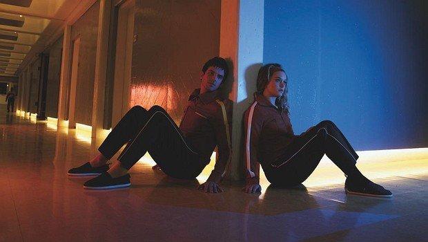 """David (Dan Stevens) und Syd (Rachel Keller) in """"Legion"""""""