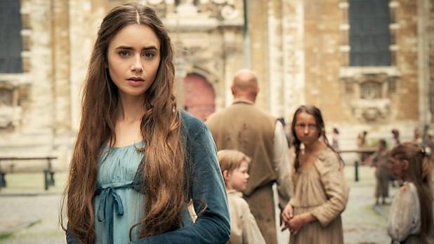 """Lily Collins als Fantine in """"Les Misérables"""""""