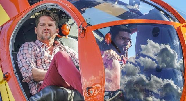 Die blasse Kavallerie: Rick (Zachary Knighton) und TC (Stephen Hill)