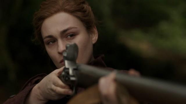 Brianna (Sophie Skelton) trifft eine Entscheidung.