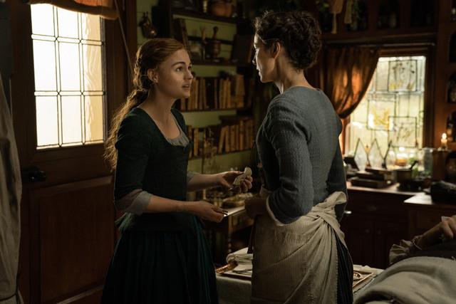 Brianna (Sophie Skelton) ist ihrer Berufung gefolgt.