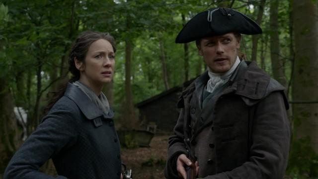 Claire (Caitriona Balfe) und Jamie (Sam Heughan) müssen schwere Entscheidungen treffen.