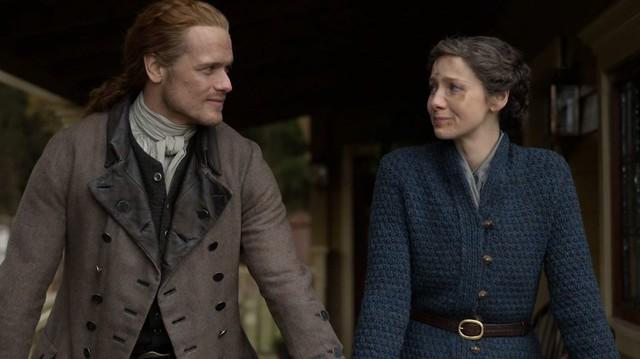 Was hält die Zukunft für Jamie (Sam Heughan) und Claire (Caitriona Balfe) bereit?