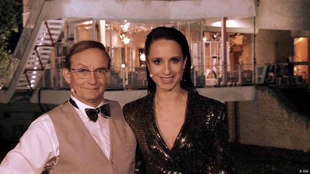 Wigald Boning und Stephanie Stumph