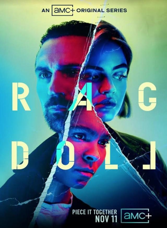 """Poster zur Serie """"Ragdoll""""."""