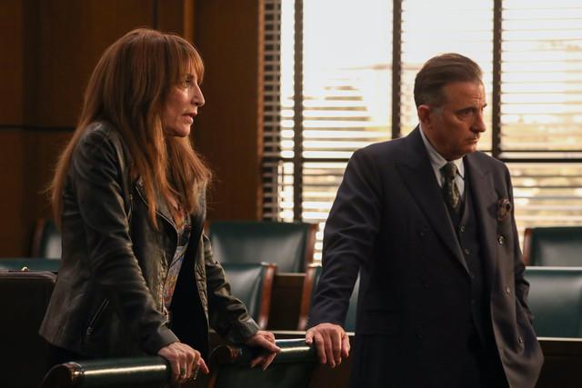 Sie streiten viel - und schätzen sich doch: Rebel und Anwalt Cruz (Andy Garcia).