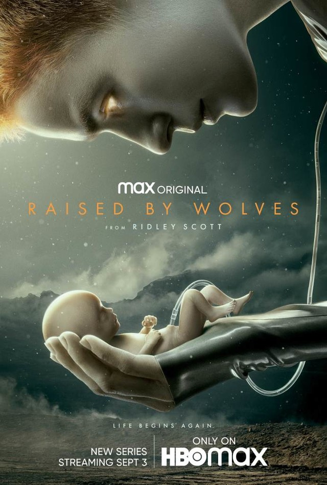 "Key Art zu ""Raised By Wolves"""