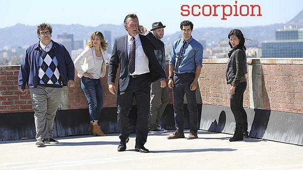 Das Team von Scorpion bei der Arbeit
