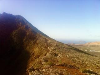 Kurz vor Lunopolis - am Kraterrand des Monte Corona