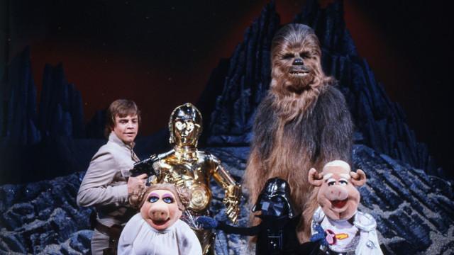 """""""Muppet Show"""" meets """"Star Wars"""": Mit Gaststar Mark Hamill kam eines der schrägsten Crossover aller Zeiten"""