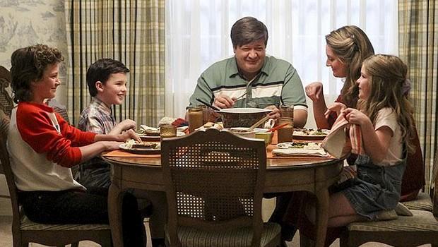 Gleich bricht zwischen den Kindern der Familie Cooper ein Streit aus, bei dem Gemüse fliegen lernt