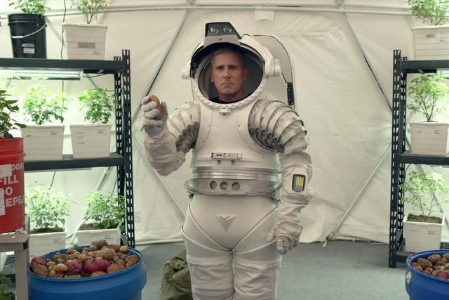 Steve Carell in einer Slapstick-Einlage.