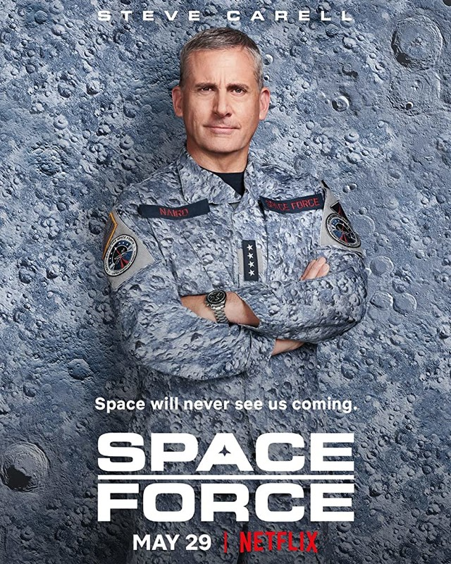 "Poster zur Serie ""Space Force"""